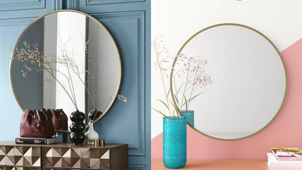 Herald Series: A bigger, more modern mirror will create the illusion of more space. Credit: Wayfair