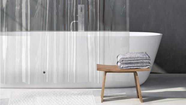 Herald Series: A clean shower liner will make your bathroom much more welcoming. Credit: Amazon