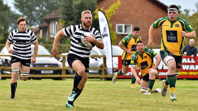 Greg Goodfellow in action for Chinnor Picture: Aaron Bayliss