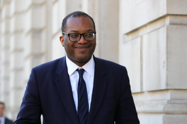 Minister of State at the Department of Business, Energy and Industrial Strategy Kwasi Kwarteng arrives at the Cabinet Office, London, ahead of a meeting of the Government's emergency committee Cobra to discuss coronavirus..