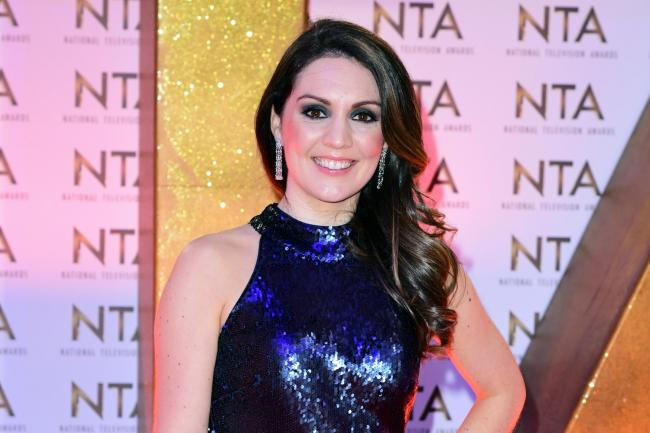 Laura Tobin during the National Television Awards