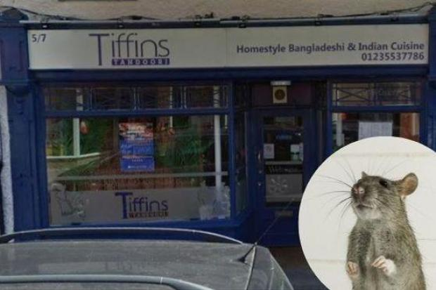 Tiffins Tandoori in Abingdon has been fined for a rat infestation