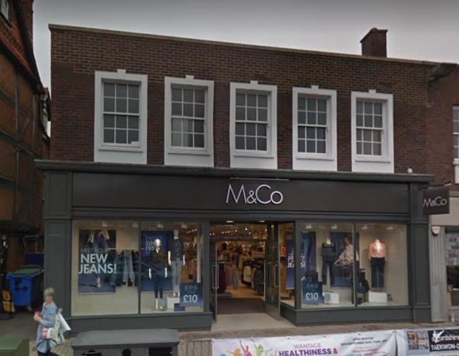 M&Co in Wantage. Picture: Google Maps