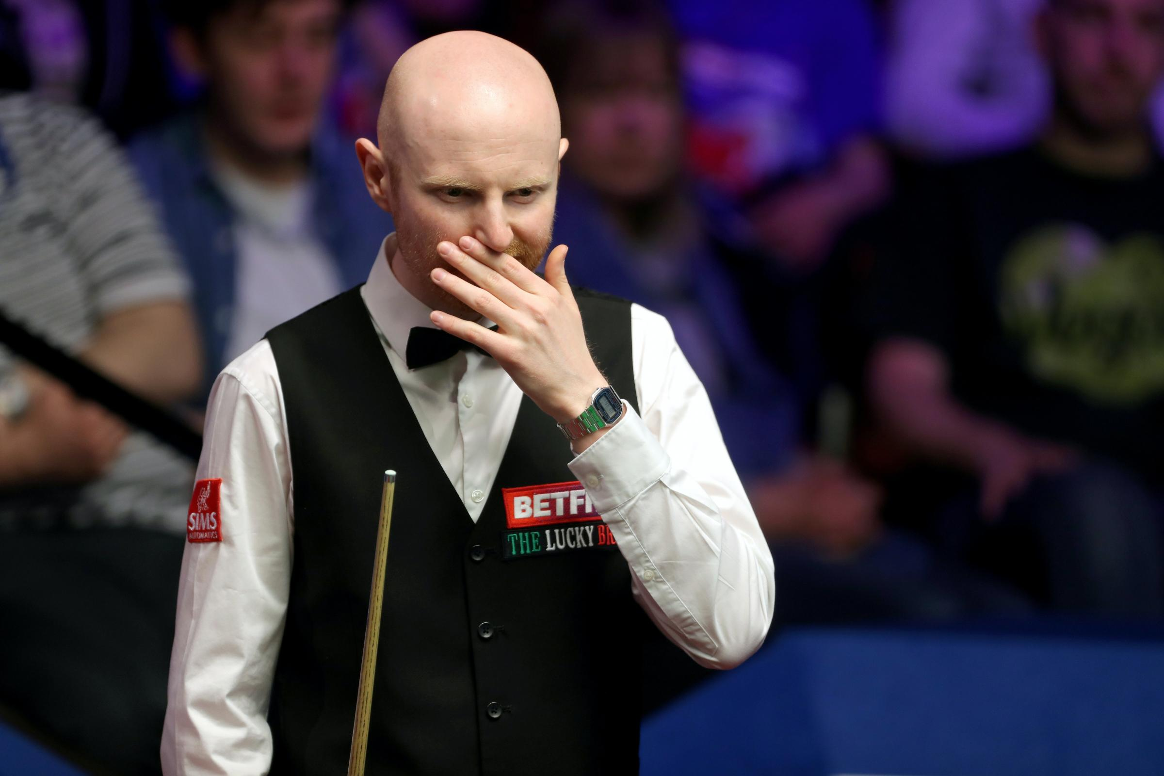 Where Is Tony Mcgill On Halloween , 2020 ? Crucible controversy as Anthony McGill confronts opponent Jamie