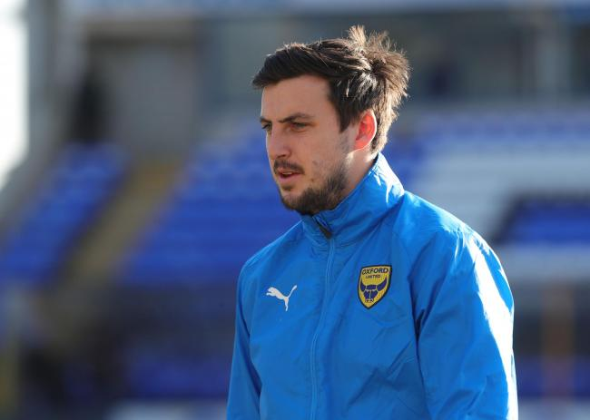 George Thorne got back into the Oxford United squad in February   Picture: Richard Parkes
