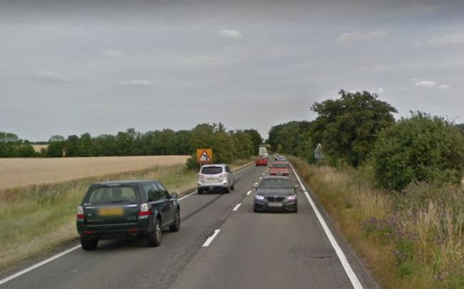 Man left with 'serious injuries' after Mitsubishi crash on A420