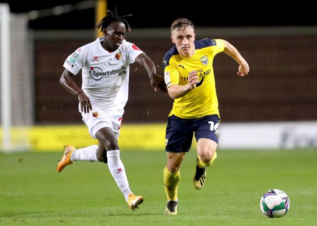 Joel Cooper has made four appearances for Oxford United this season   Picture: David Fleming