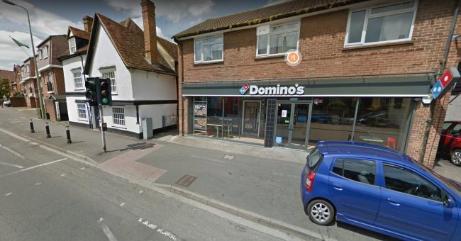 Domino's Pizza in Ock Street. Picture: Google Maps