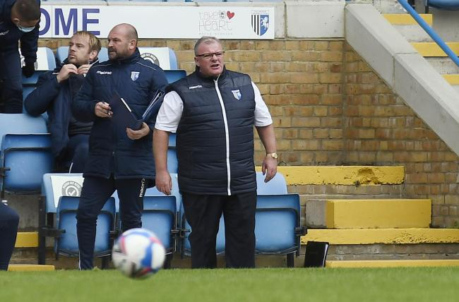 Gillingham manager Steve Evans watches his side beat Oxford United   Picture: David Fleming