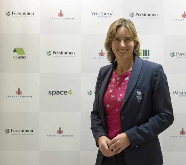 Dame Katherine Grainger DBE, chair of UK Sport and Great Britain's most decorated female Olympian, presented the Persimmon Homes Building Futures online final, helping to hand out £1million to groups supporting the under-18s.