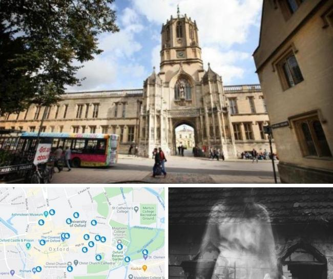 The  ghost map that reveals the MOST haunted places in Oxford