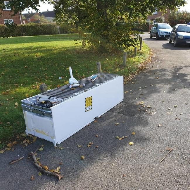 Vale of White Horse District Council hunt for fridge fly-tippers