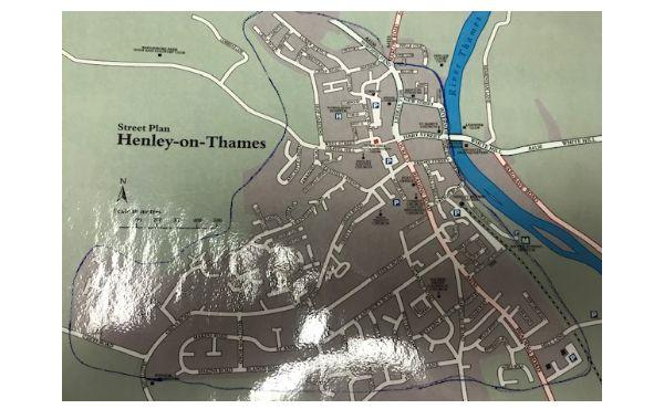 Herald Series: Map of Henley released by Thames Valley Police