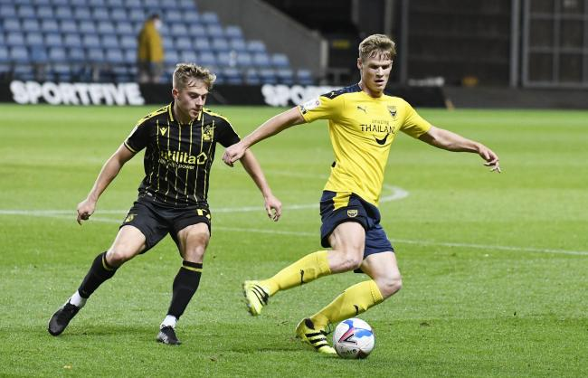 Rob Atkinson first picked up the injury playing for Oxford United against Bristol Rovers earlier this month   Picture: David Fleming