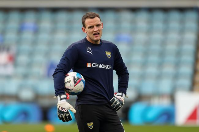 Oxford United boss Karl Robinson says he knows goalkeeper Simon Eastwood is still capable of getting back to his best form   Picture: James Williamson