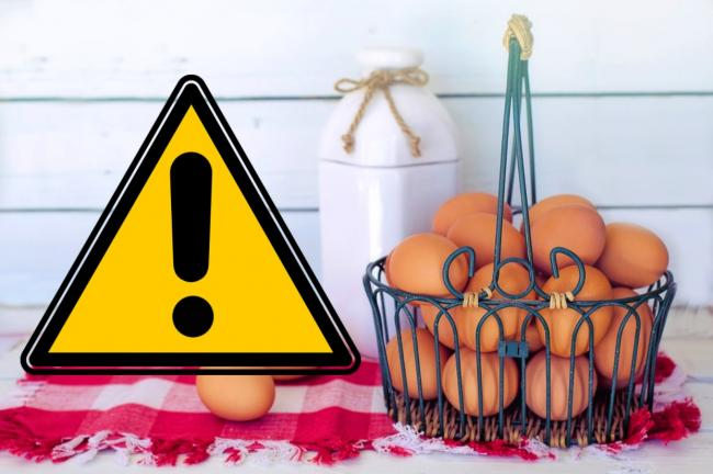 Safety warning issued on Aldi, Asda and Sainsbury's eggs over salmonella contamination fears. Picture: Newsquest