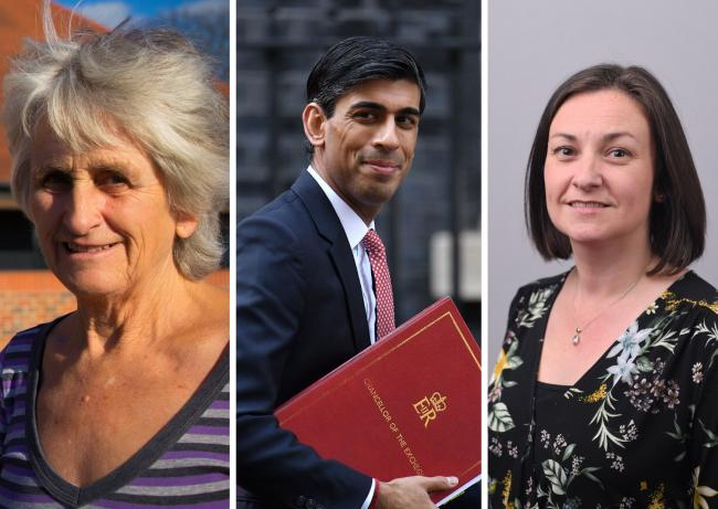 Councillors Emily Smith and Sue Cooper go head to head with Rishi Sunak