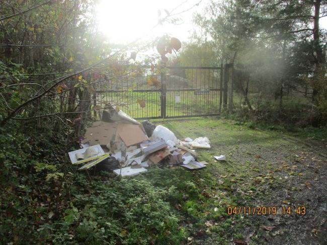 Fly Tipping.