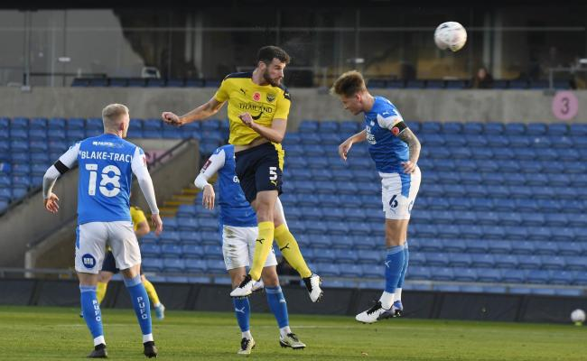 Elliott Moore is enjoying being Oxford United's senior centre back Picture: David Fleming