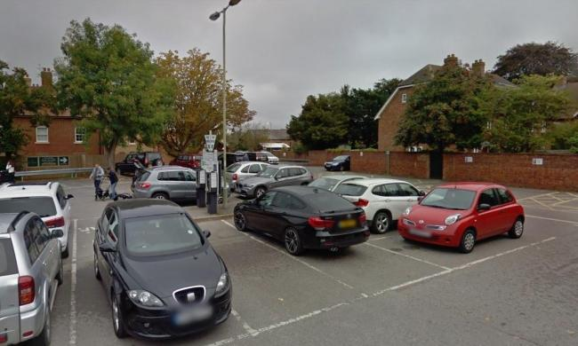 The Vale council-run car park at the Beacon civic hall in Wantage. Picture: Google Maps