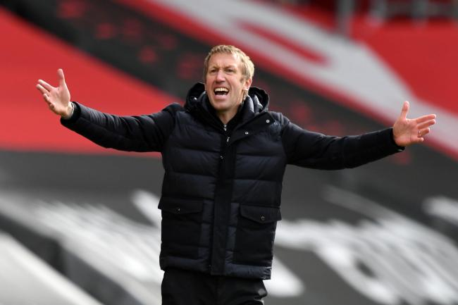 Brighton head coach Graham Potter is preparing for a trip to Stamford Bridge