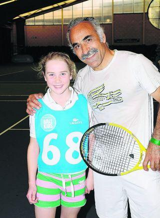 Jemima Gray and Mansour Bahrami