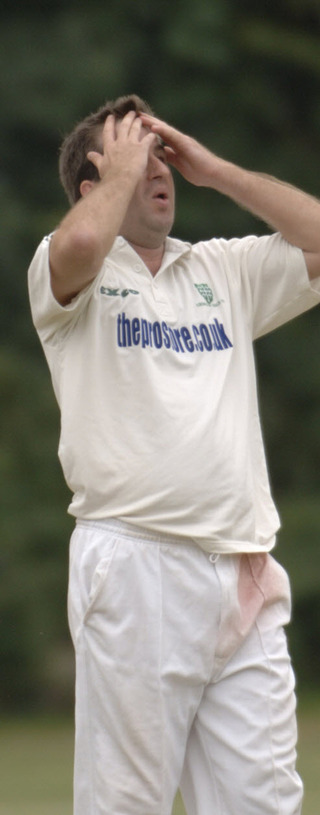 Abingdon Vale skipper Danny Hartley has endured a frustrating start to the season as his batsmen have been shot out for a succession of low scores