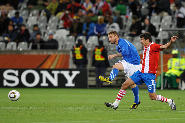 Herald Series: Italy Paraguay World Cup