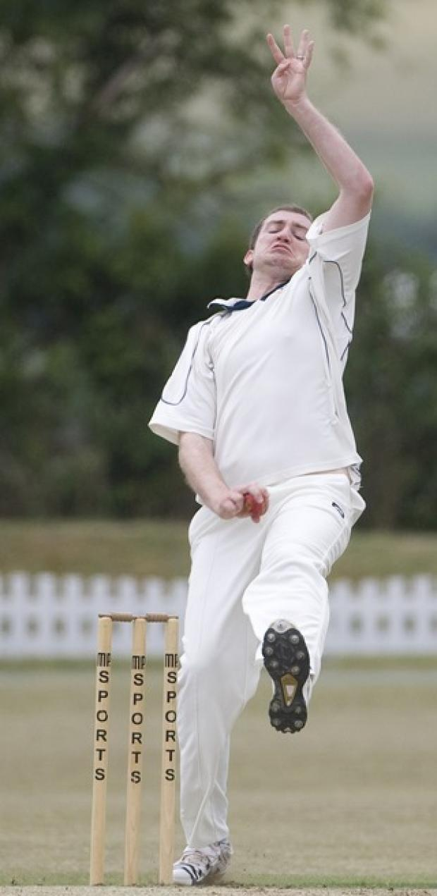 Challow's Olly Dimbylow in action against Horspath