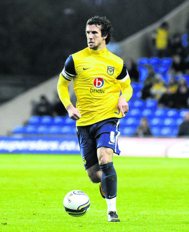 Jake Wright has made 100 starts for Oxford United