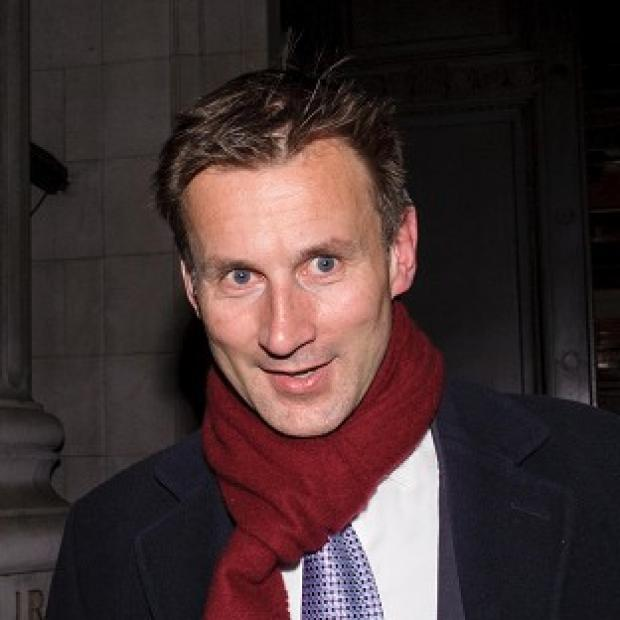 Herald Series: Jeremy Hunt has requested an early date at the Leveson Inquiry to give evidence
