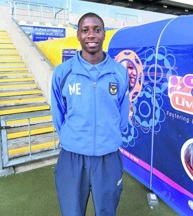 Marvellous Marvin earns Oxford United scholarship