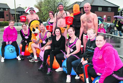 Baring up despite rain to help cystic fibrosis