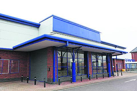 The former DIY Focus store which will open as a Family Bargains shop