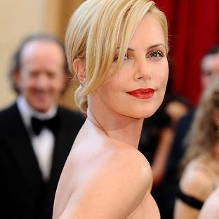 Charlize Theron will present a gong at the 2012 MTV Movi