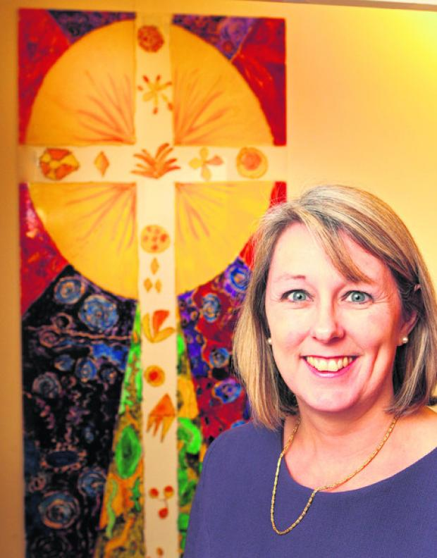 Oxford Diocese education director Anne Davey