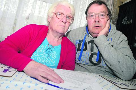 Pensioners Ann and George Strange believe they have been scammed by a fake PPI compensation scheme