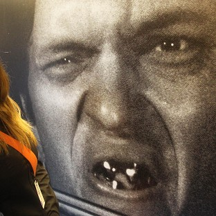 A photograph of Bond character Jaws, played by Richard Kiel, features in a new exhibition