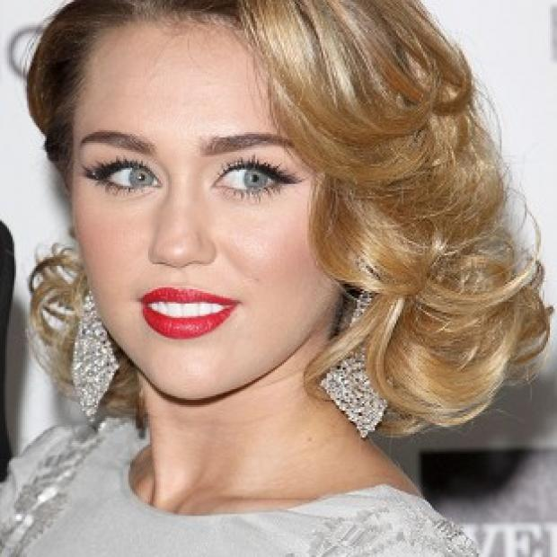 Miley Cyrus was one of many US celebs celebrating Independence Day