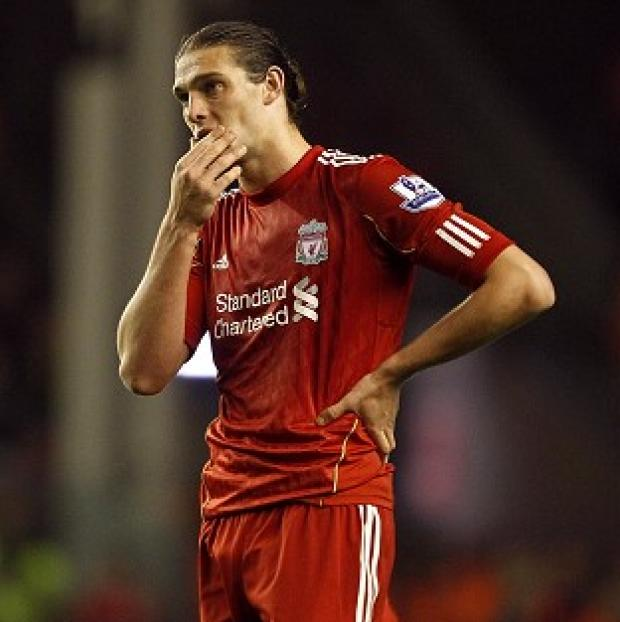 Andy Carroll has scored 11 times in 56 outings for Liverpool