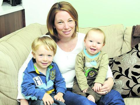 Mum recognised for fundraising success