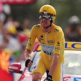 Bradley Wiggins bound for Paris and historic victory in Tour de France