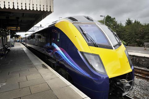 A First Great Western Class 180 Adelante train