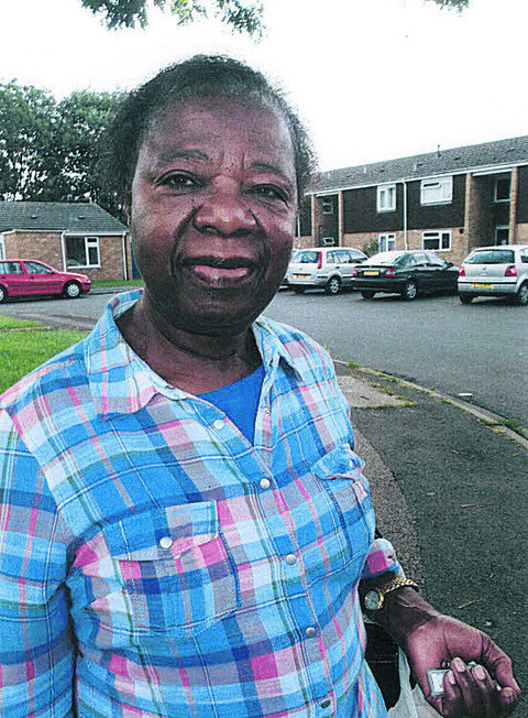 Former nurse Bertha Nyahoda had seen 'quite a few' women visiting flats in Turner Road, Abingdon, over recent months