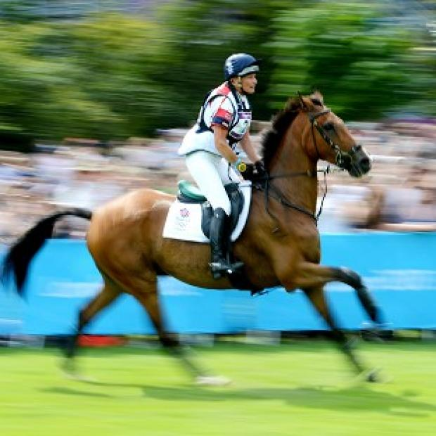 Mary King's Imperial Cavalier and all the Team GB horses passed the inspection
