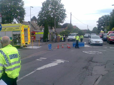 Concerns about petrol smell after Didcot attack