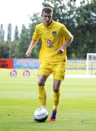 Sean McGinty made just two appearances for the U's
