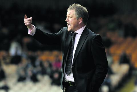 Chris Wilder is looking to turn the success from Tuesday's cup win into league points