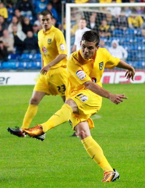 Oxford United's Jake Forster-Caskey could miss out at Elland Road tonight because of injury