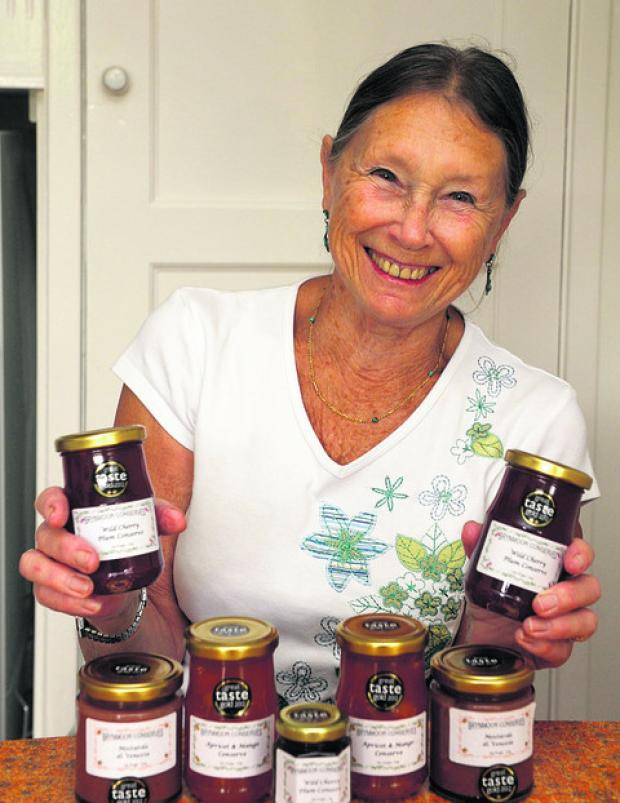Sarah Doidge with her award-winning jam